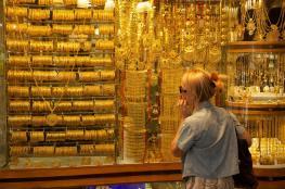 اسعار الذهب ترتفع الى اعلى  سعر  منذ 3 أشهر