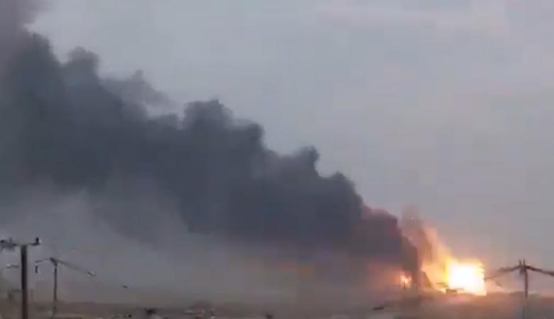 ايران تشهد انفجارات جديدة وحرائق ضخمة