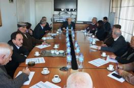 لجنة الانتخابات تلتقي بالفصائل ومؤسسات المجتمع المدني في البيرة