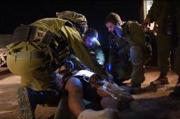 إصابة جندي إسرائيلي في مواجهات بدير أبو مشعل