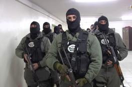 الوقائي يقبض على منفذي عملية سطو مسلح على صريف في نابلس