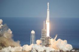 """شركة أمريكية تطلق أقوى صاروخ في العالم نحو الفضاء """" فيديو """""""