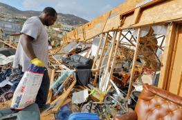 """اعصار """"ماريا """" الخطير جداً  يزداد قوة ويضرب سواحل الولايات المتحدة"""