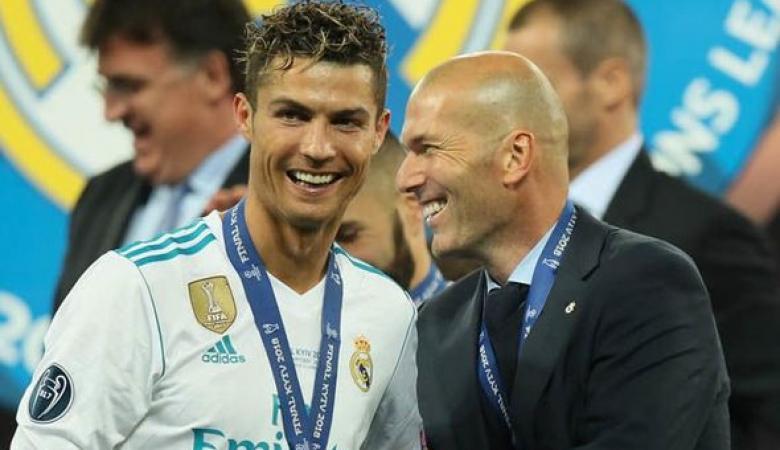 رونالدو : هكذا كان يتعامل معي زيدان في مدريد ...فيديو