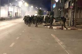 جيش الاحتلال يجتاح رام الله بمئات من الجنود لهدم منزل عائلة ابو حميد