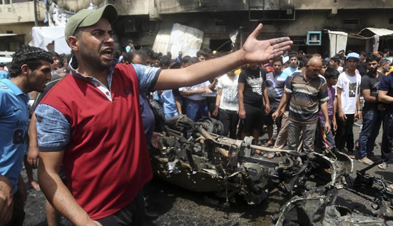 "بغداد: 39 قتيلا بتفجير تبناه ""داعش"""
