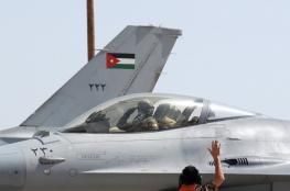 """سقوط طائرة """"F16"""" أردنية جنوب غرب السعودية"""