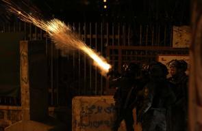 مواجهات بين الشبان الفلسطينيين وقوات الاحتلال في بيت لحم
