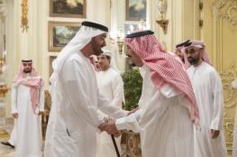 """محمد بن زايد : نقف مع السعودية في """"خندق واحد """""""
