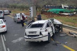 الضفة الغربية : 277 حادث سير خلال اسبوع ..احصائية تكشف أعداد الضحايا