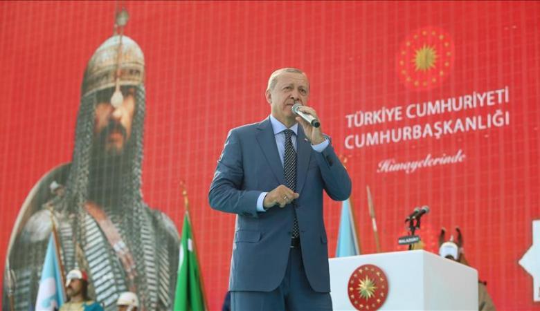 اردوغان : تركيا الدولة الوحيدة القادرة على قيادة العالم الاسلامي