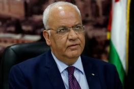 عريقات يطلع مفوض الأونروا على جهود الرئيس لسد العجز المالي للوكالة