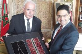 لقاء بين المالكي ووزير الخارجية المغربي في الرباط