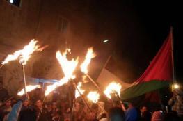 الاردنيون يواصلون اعتصامهم في الشوارع وامام السفارة الامريكية