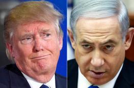 نتنياهو  واليمين الإسرائيلي لا يثقون بنوايا ترامب!