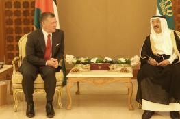 ملك الأردن يبحث الأزمة الخليجية في الكويت