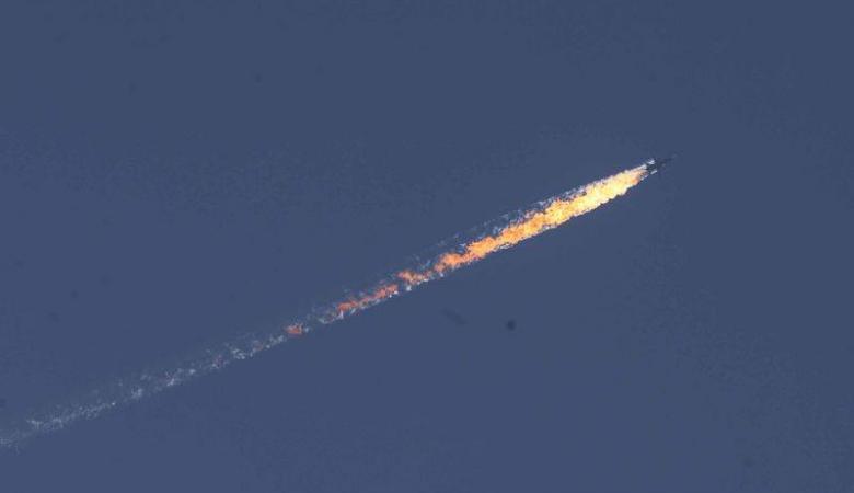 المعارضة تسقط طائرة للنظام السوري  في ريف ادلب