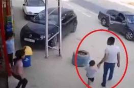 بعد انتشار الفيديو ...الشرطة تقبض على شخص حاول اختطاف طفل