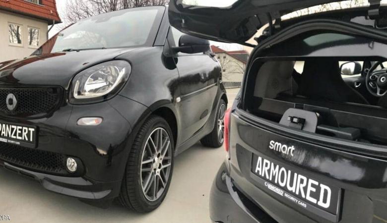شركة ألمانية تطلق سيارة مقاومة لرصاص المسدس