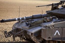 """سرقة سلاحين من نوع """"ماغ """" من دبابة اسرائيلية"""