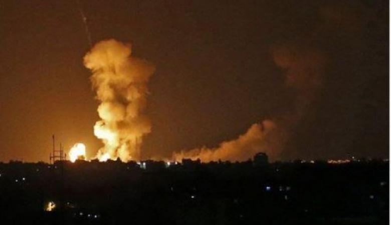 قصف اسرائيلي على غزة وقناة عبرية تتحدث عن تصعيد