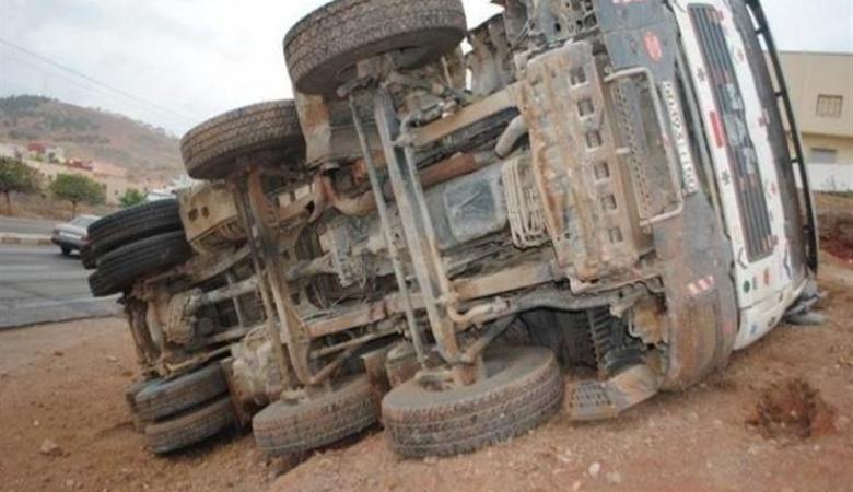 مصرع شاب في حادث سير ذاتي على طريق نابلس-اريحا