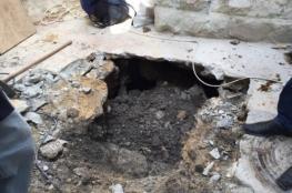 انهيارات أرضية جنوب الأقصى بسبب حفريات الاحتلال