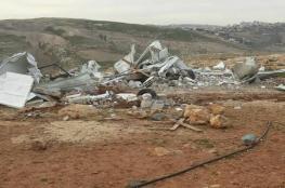 قوات الاحتلال تهدم مدرسة ابو نوار بالقدس