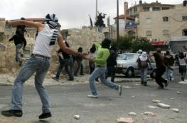 إصابات واعتقالات في مواجهات مع الاحتلال بالقرب من رام الله والبيرة