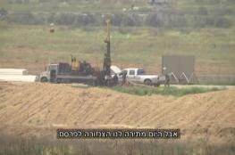 بتكنولوجيا حديثة ...الجيش الاسرائيلي يعلن عن اكتشاف نفق ضخم قرب غزة