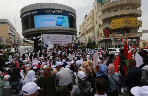 الاتحاد العام لنقابات عمال فلسطين ينظم مهرجان بمناسبة عيد العمال العالمي