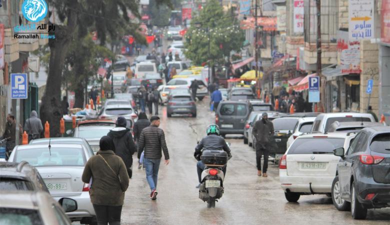 فلسطين ..منخفض جوي بارد وماطر يصل خلال ساعات