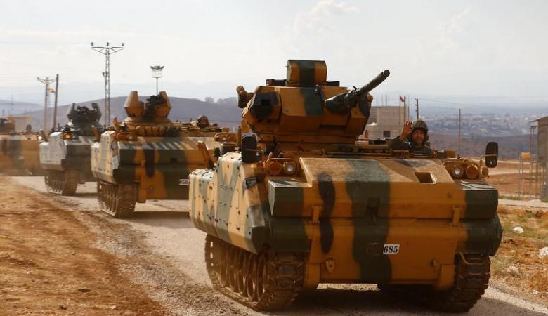 الجيش التركي يدخل ادلب السورية