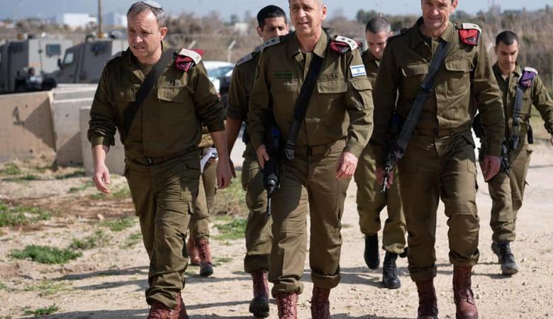 نجاة قائد الجيش الاسرائيلي من حادث جوي خطير
