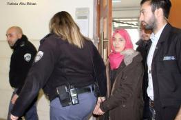 """الحكم على الأسيرة دويات بالسجن لمدة """" 16 """" عاما"""