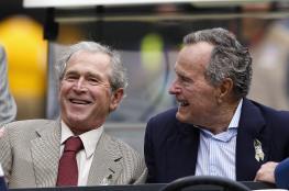 بوش الأب والأبن يردان على تصريحات ترامب