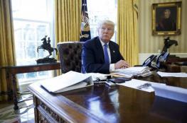 ترامب : حل الدولتين هو الأفضل لي لانهاء الصراع