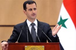 الاسد : الحرب في سوريا صراع بين  الغرب وروسيا