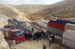 وفاة مواطن بحادث عمل في كسارة شرق بيت لحم