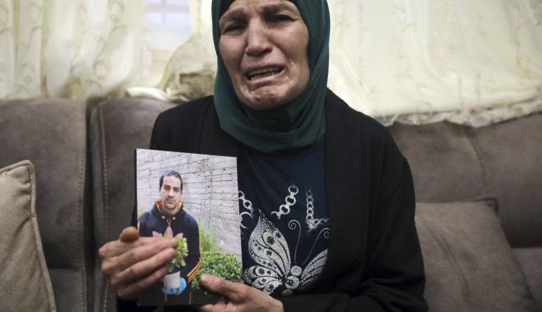 """مسيرات في حيفا ويافا لاستشهاد """"اياد ومصطفى يونس """""""