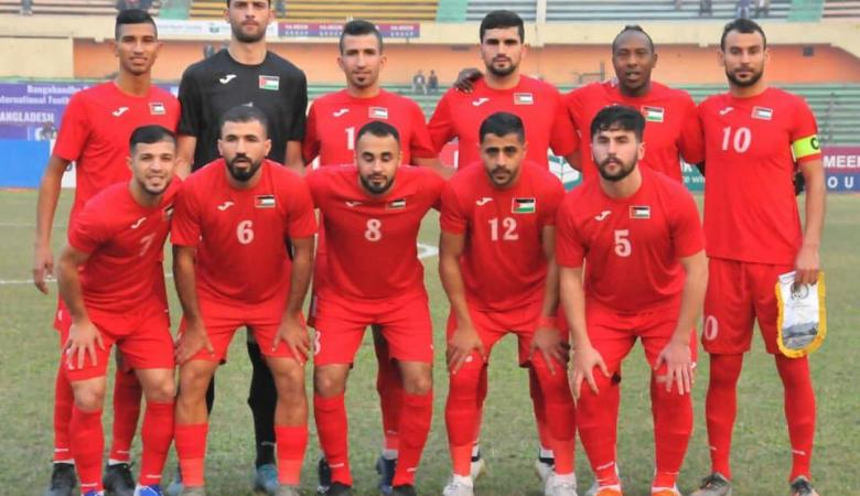شاهد ..المنتخب الفلسطيني يهزم بنغلاديش