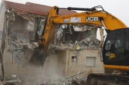 خطط اسرائيلية لهدم 25 منزلا فلسطينياً