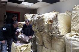 """ضبط 3 طن من الدخان المهرب في بيت لحم """"صور """""""