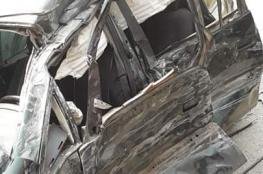 اصابات بينها حرجة في حادث سير مروع غرب جنين