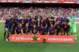 شاهد: برشلونة يحصد ثاني ألقابه هذا الموسم