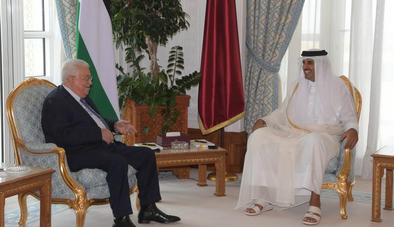 الرئيس يجتمع بأمير قطر اليوم في الدوحة