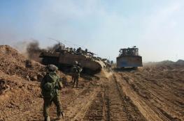 ضابط اسرائيلي كبير يدعو لاجتياح غزة والقضاء على حماس