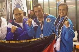 فلسطين تحصد ميداليتين برونزيتين في بطولة ايطاليا للتايكواندو