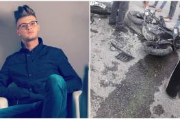 مصرع شاب في حادث سير مروع شمال سلفيت