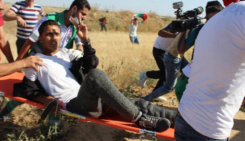 بيان تفصيلي من الهلال الأحمر عن طبيعة الإصابات في الضفة وغزة